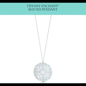 Limited edition toffany medallion neclace